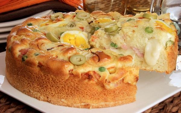 Receita de torta portuguesa (Imagem: Reprodução/Guia da Cozinha)