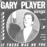 Sleeve of Gary Player 45 rpm single record