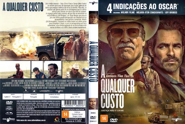 Capa DVD A Qualquer Custo (Oficial)
