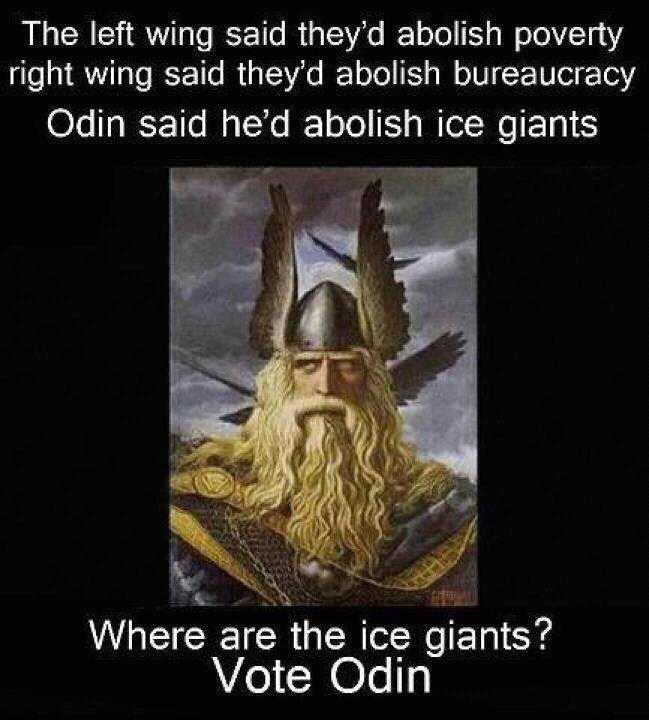 Consciousness Energy Path 111: Vote Odin +++ V+O = 22+15 = 37