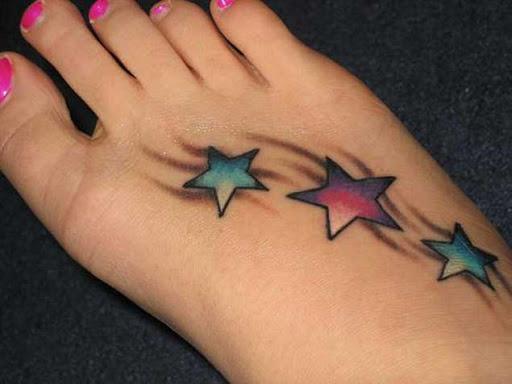 Estas estrelas coloridas