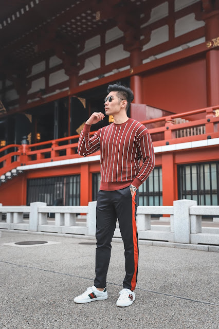 Levitate Style - Spring Menswear Outfit in Japan