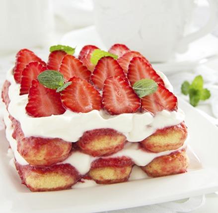 Recette Tiramisu aux fraises