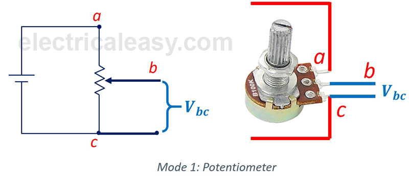 Difference between Potentiometer and Rheostat electricaleasy