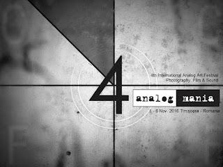 Analog Mania 01-06 noiembrie 2016 la Timisoara