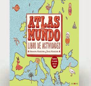 Atlas del mundo libro de actividades