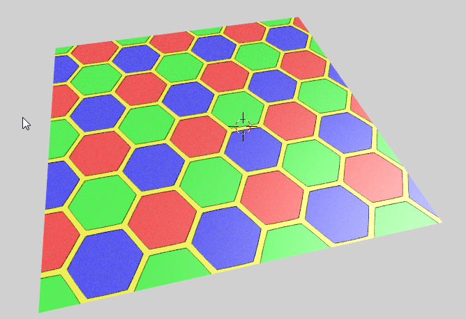 Small Blender Things: A hexagon shader in OSL, second edition