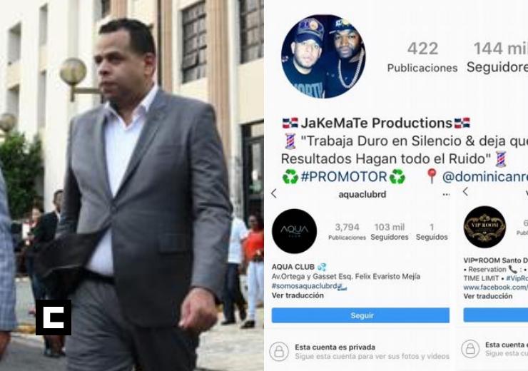 """Reabren cuentas de """"Jake Mate"""", VIP Room y Aqua Club en Instagram"""