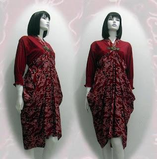 Model Baju Batik Modern Terbaru Pria Wanita Black Models