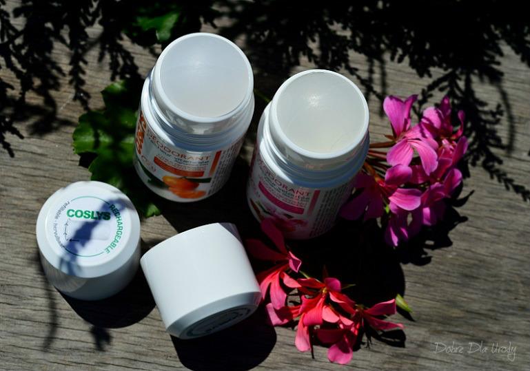 Dezodoranty Coslys Cytrusowy - Witaminowa Świeżość oraz Migdałowy - Jedwabista Świeżość