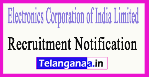 ECIL Electronics Corporation of India Limited Recruitment
