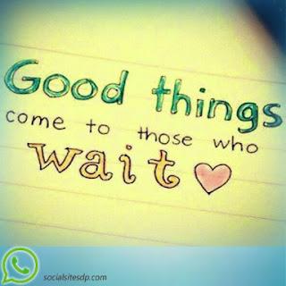 waiting whatsapp dp