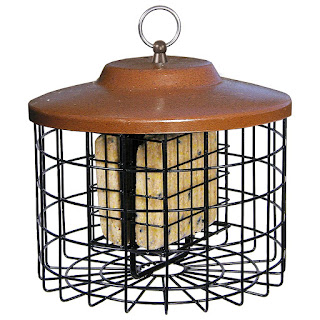 double suet feeder for the birds