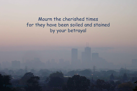 Haiku poem on betrayal