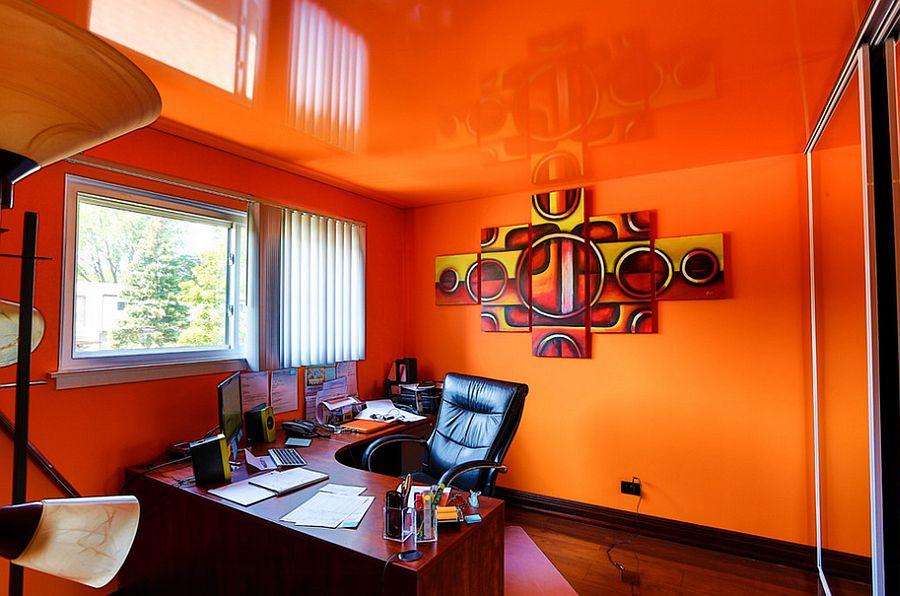 Hasil gambar untuk warna rumah orange