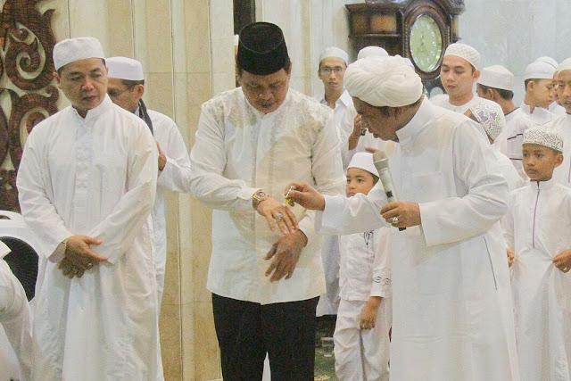 Peringatan Maulid di Banjarmasin, Ribuan Jamaah  Padati Masjid Raya Sabilal Muhtadin