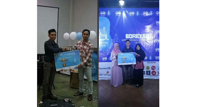 SPE Unhas Got 1st for Paper Competition at BOREYES International Energy Fair 2016