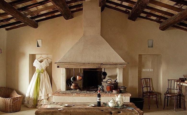 Follonico una casa de huéspedes en la Toscana chicanddeco