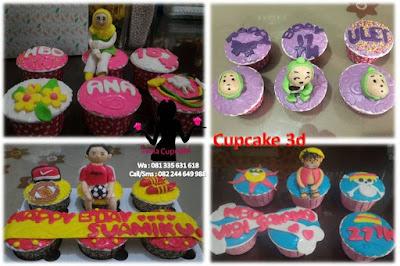 Harga Cupcake 3d Fondant