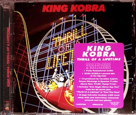 KING KOBRA - Thrill Of A Lifetime [Rock Candy remastered +1] (2017) full