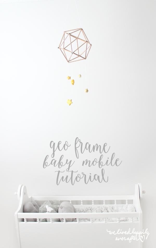 tutorial para hacer móvil para cuna bebé