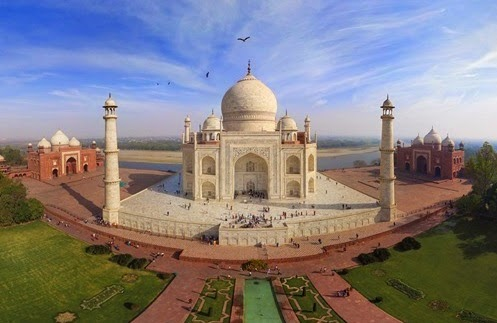 TAJ MAHAL 360 Degree Virtual Tour