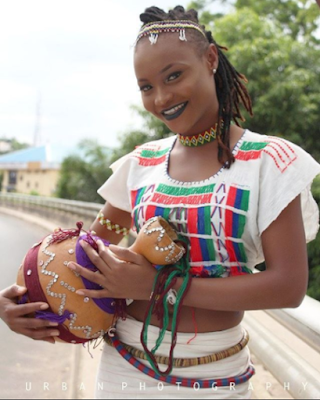 HIT or MISSED? Ex Bbnaija Housemate, Marvis Stuns In Fulani Attire