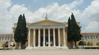 Greek Parliament from the outside