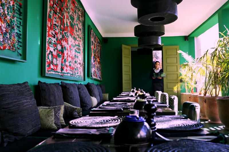 Le jardin un restaurante imperdible en marrakech hampton sc for Cafe le jardin marrakech