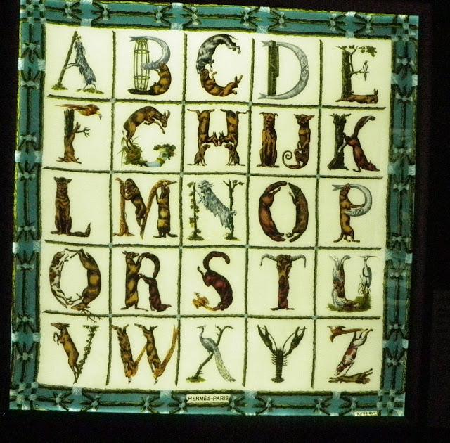 Alphabet II (Алфавит II), 1965 год, Художник Henri d'Origny