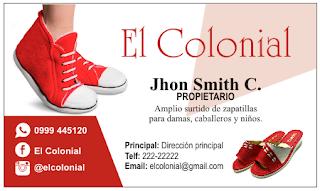 Tarjetas de negocio zapatillas de mujer