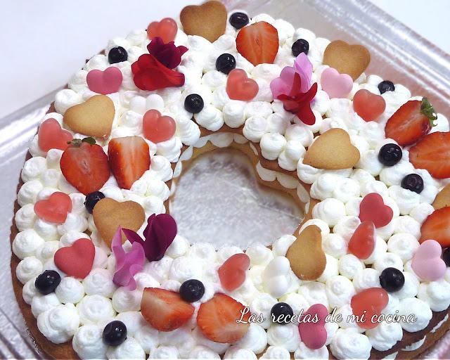 Tarta de corazón, pastel tendencia del 2018