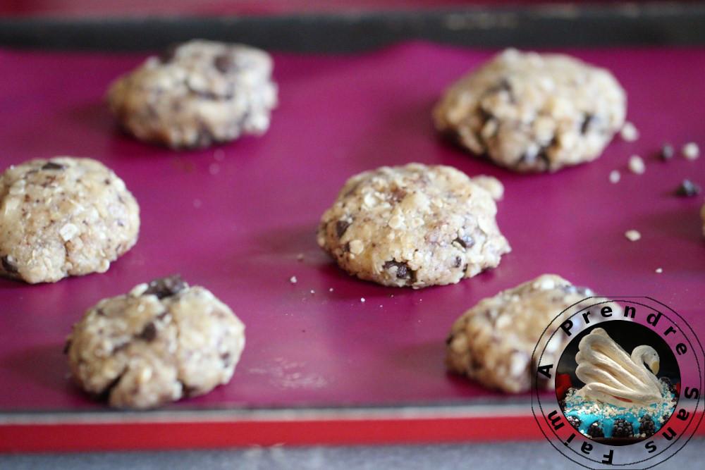 Cookies au riz complet et avoine