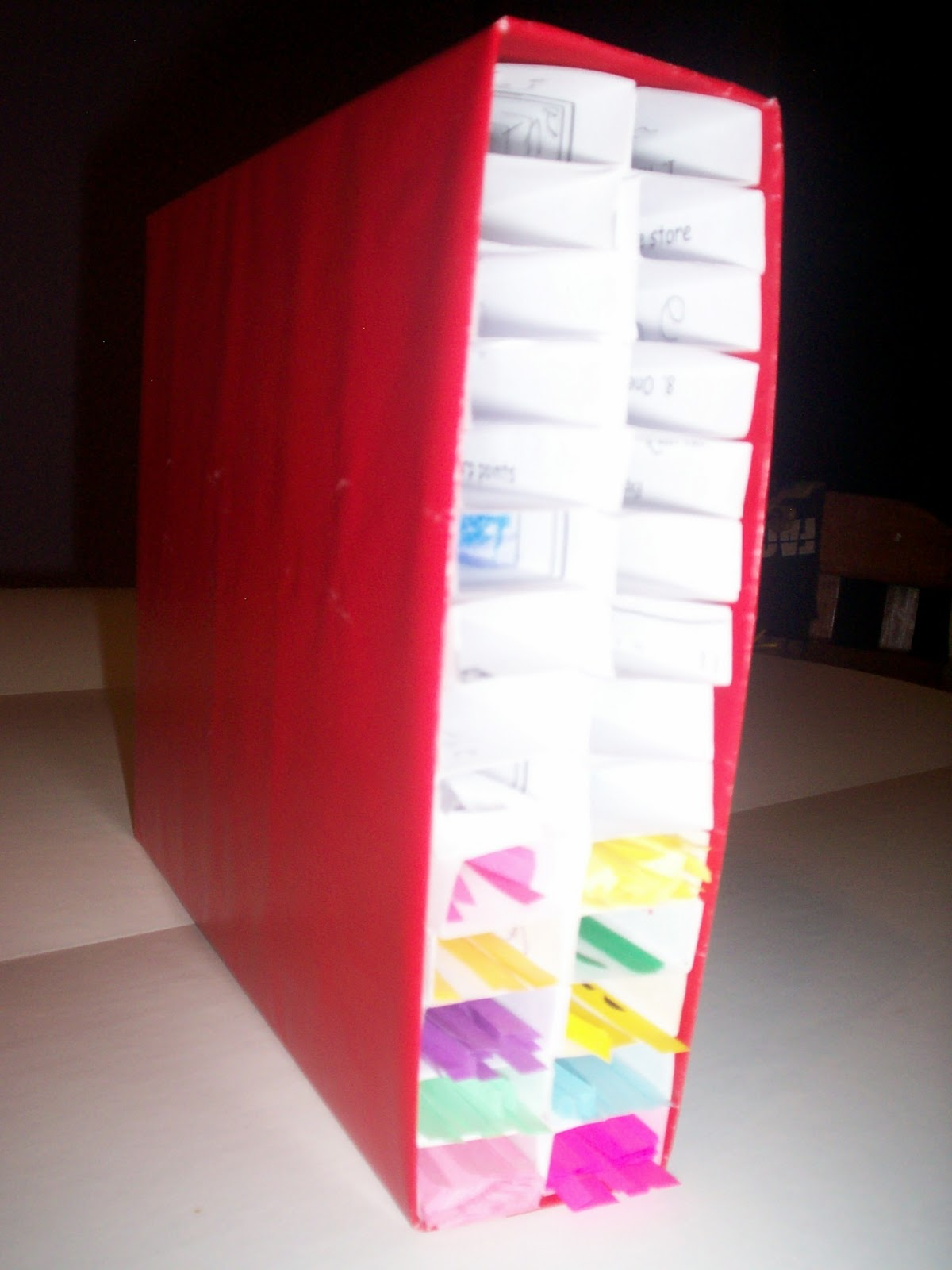 & I Create Purty Thangs: Quilling Strips Storage