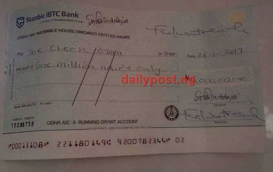 Ondo Paymaster Caught With N15m Photo Credit: Daily Post