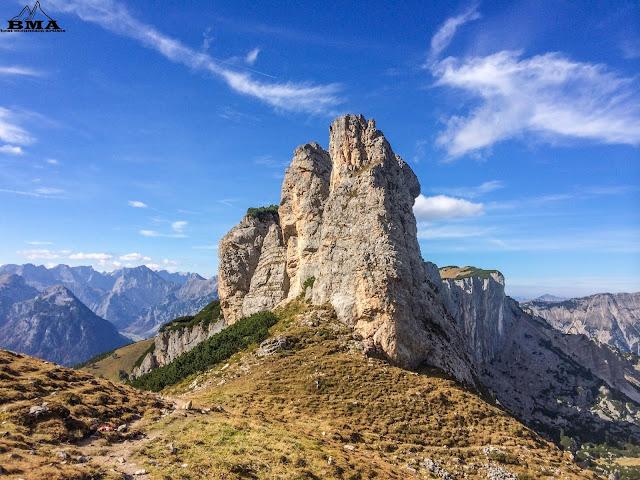 wandern Rofan - Hochiss bergtour - Rundwanderung Achensee