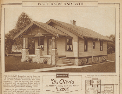 catalog image of sears olivia 1925