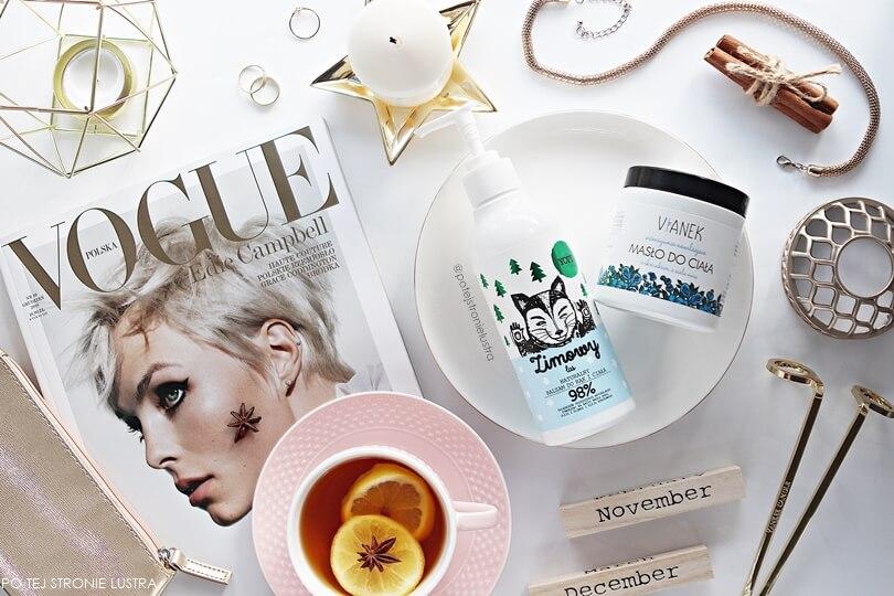 kosmetyki naturalne do nawilżania ciała - balsam yope zimowy las i masło nawilżające vianek