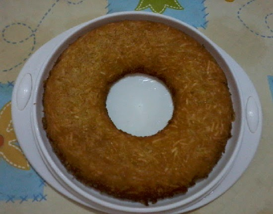 """Bolo de mandioca: """"o melhor bolo de mandioca do mundo"""" / foto: OQueComerHoje?©"""