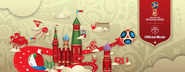 WC Russia 2018 Patch untuk PTE 5.0