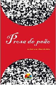 imagem de uma capa de livro: no centro uma tarja vermelha escrito em branco prosa de peito