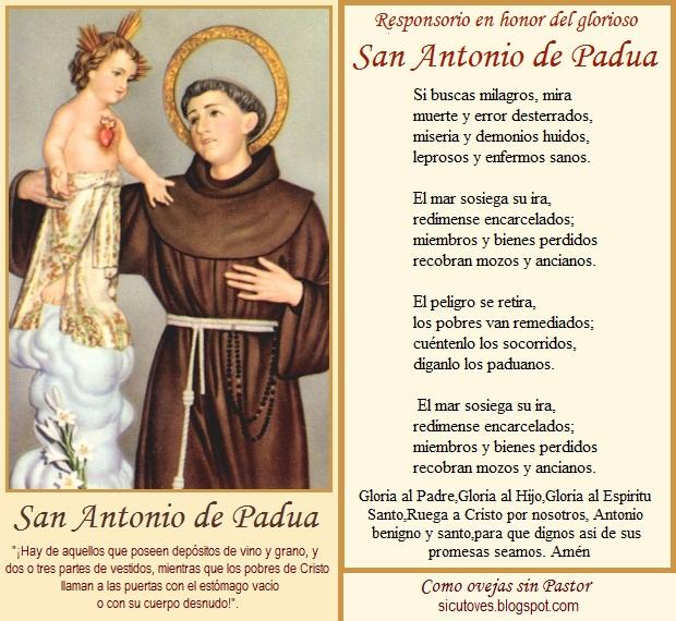 San Antonio Oracion Y Trabajo Para Atraer Y Conquistar A La Persona Amada 7 Nudos Oraciones De Poder Y Proteccion