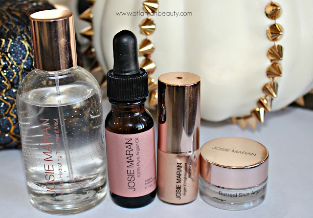 Josie Maran's Glowing Argan Oil Skincare Essentials