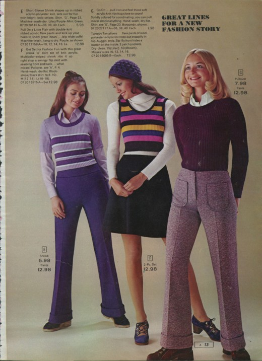 Dear Golden Vintage Sears Catalog 1972