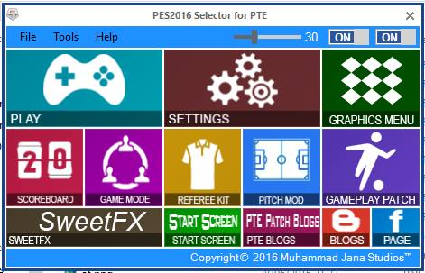 New Selector untuk PTE Update Juli 2016
