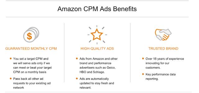 Amazon CPM Advertising.