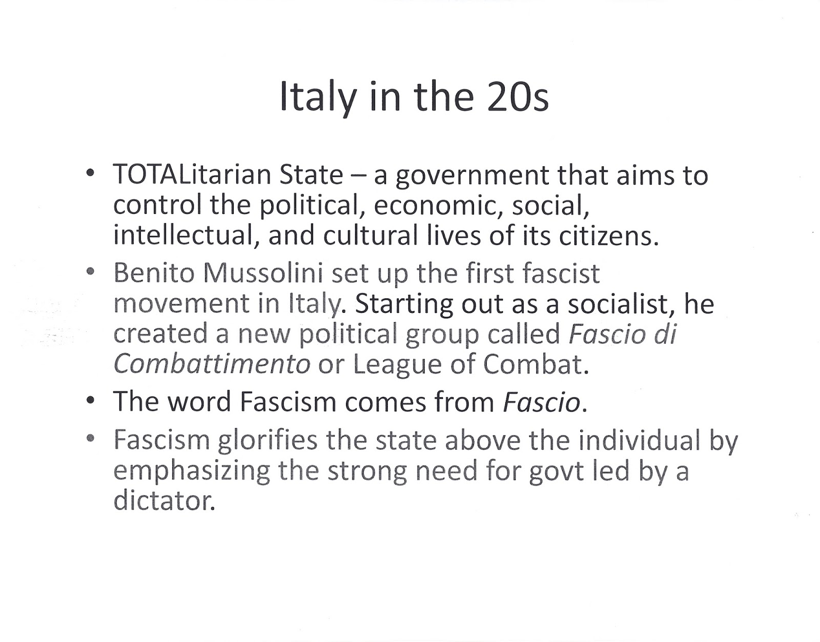 mr e s world history page chapter 29 powerpoints and notes