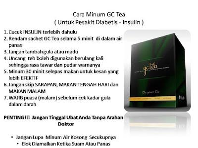 Cara Minum GC Insulin