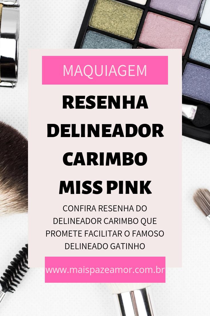 DELINEADO PERFEITO COM MISS PINK