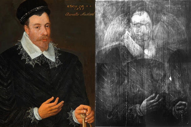 Portrait of Mary Queen of Scots discovered underneath 16th century painting